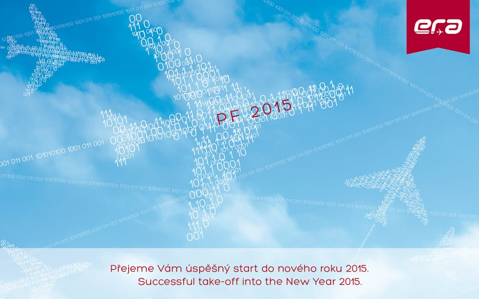 Pour Felicitér 2015 - successful take-off into the New Year!
