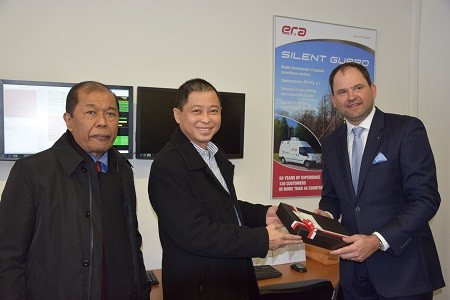 The Indonesian Minister of Transportation visited ERA headquarters