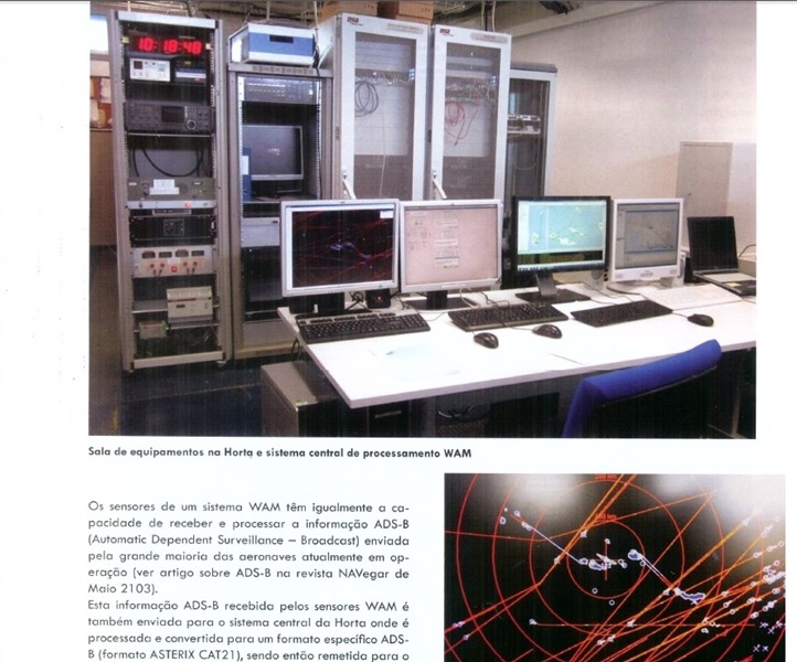 WAM project West Azores in Portuguese magazine Navegar