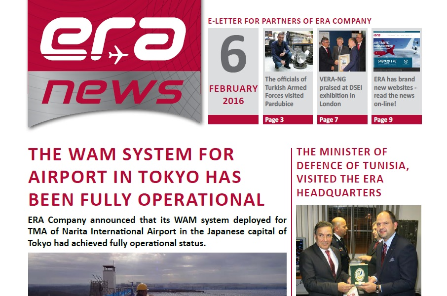 ERA News, 6th issue, February 2016