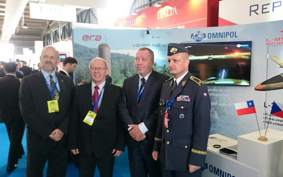 ERA exhibits at FIDAE air show in Chile
