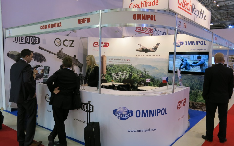 ERA Attended ADEX in Baku – One of the Biggest Exhibition of Military Technologies in Post-soviet Region
