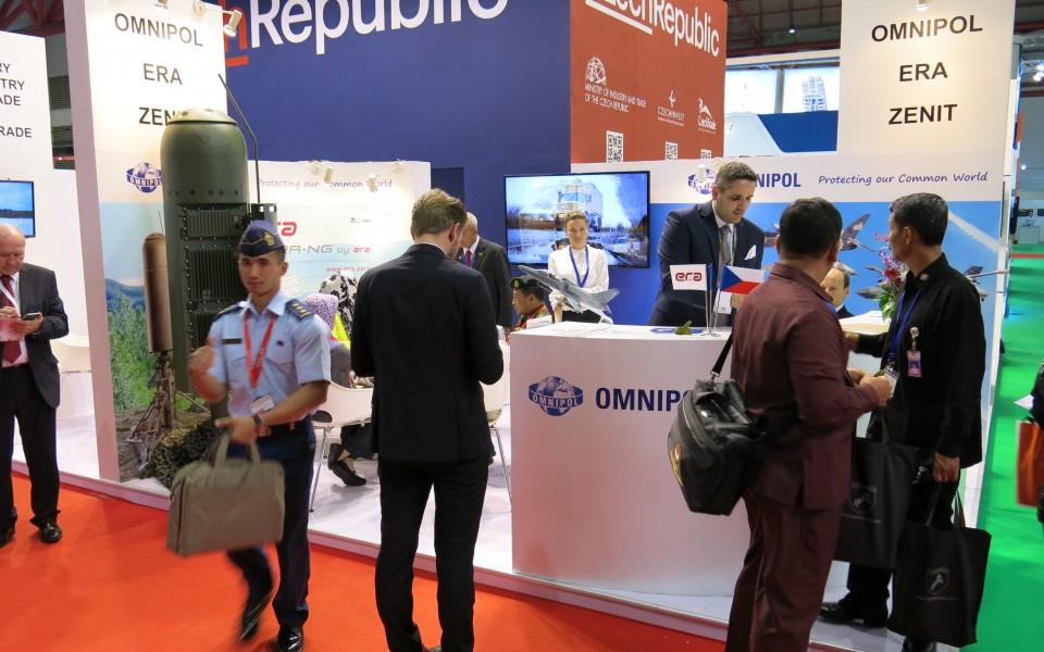 ERA and OMNIPOL exhibited at Indodefence fair in Jakarta