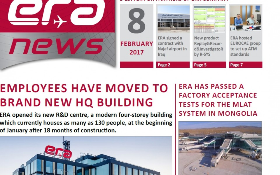 ERA NEWS, 8th issue, February 2017