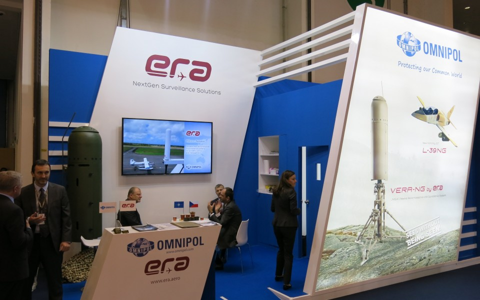 ERA participated in major international defence exhibition IDEX in the United Arab Emirates