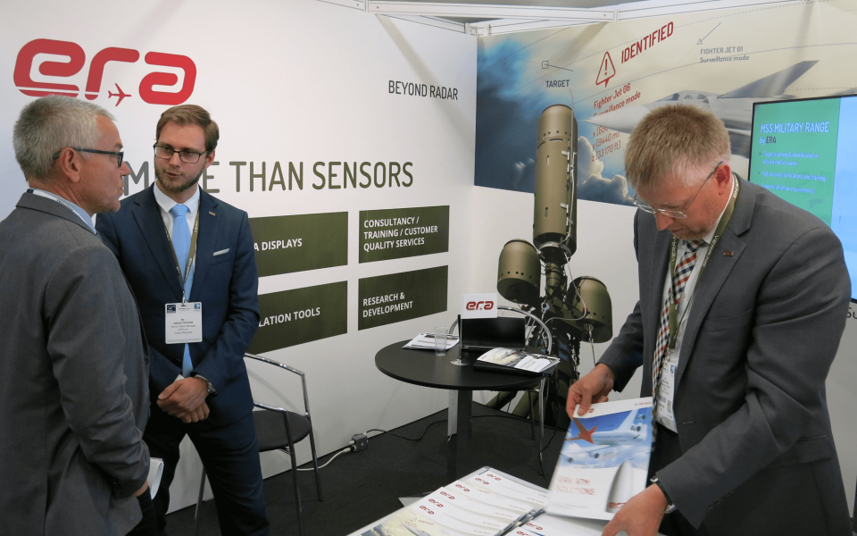 ERA presented its systems at Electronic Warfare conference EW Europe 2017  in London