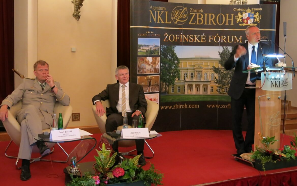 ERA participated in Forum Žofín, the gathering of VIPs in defence and security field