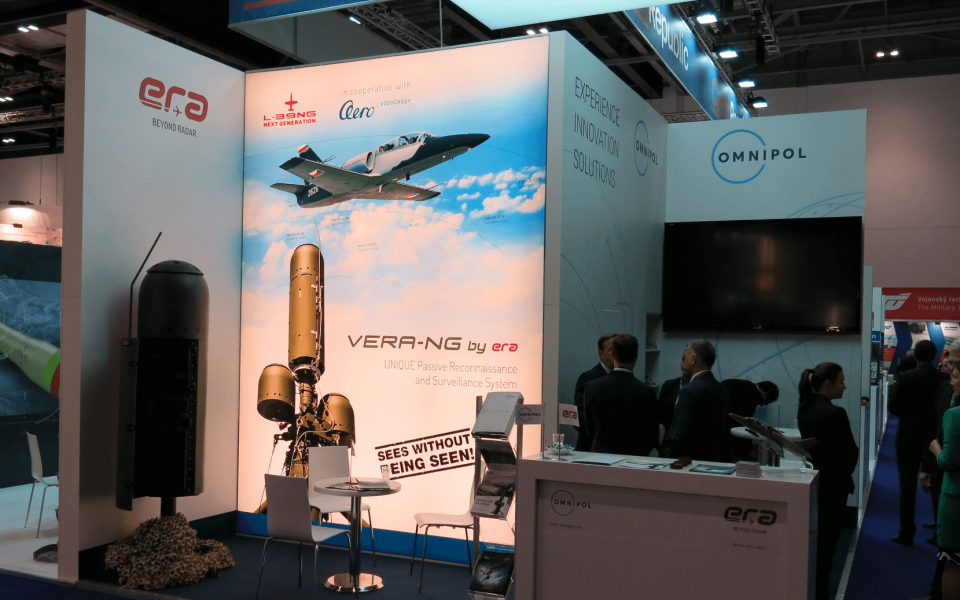 ERA has exhibited at DSEI 2017 in London