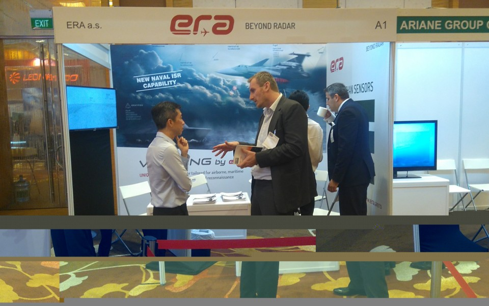 ERA presented its systems at the Electronic Warfare conference ADECS 2018 in Singapore
