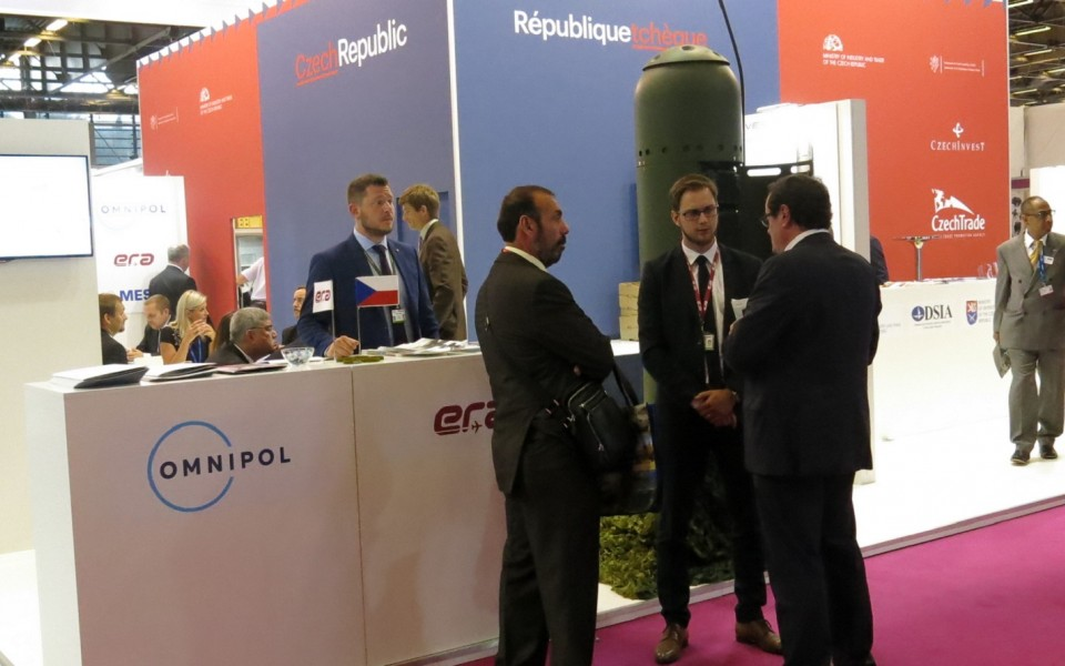 ERA promoted its portfolio of defence products at Eurosatory in Paris