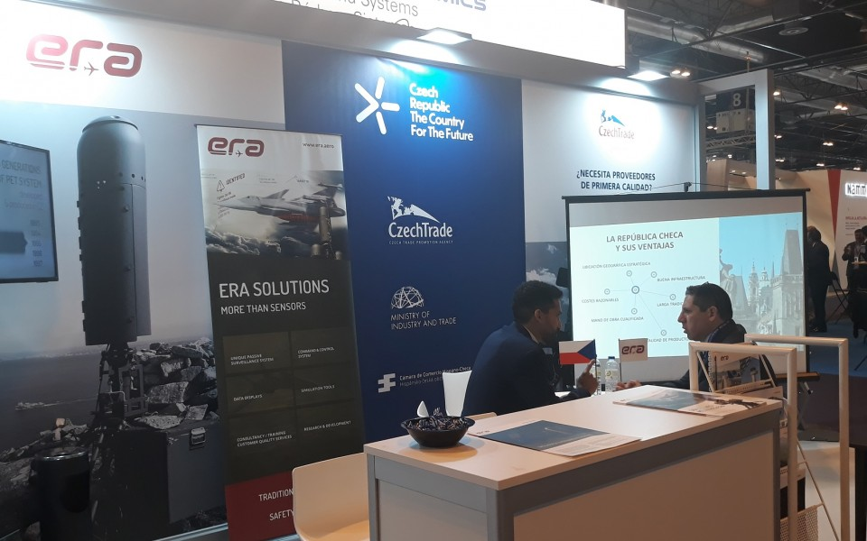 ERA presented its ELINT capabilities at FEINDEF in Madrid